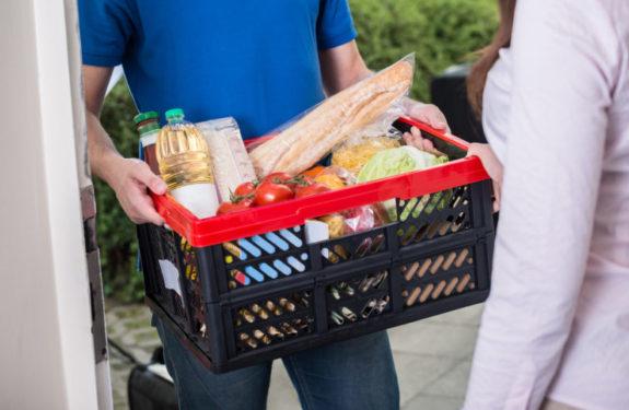Envío de alimentos en tiendas online