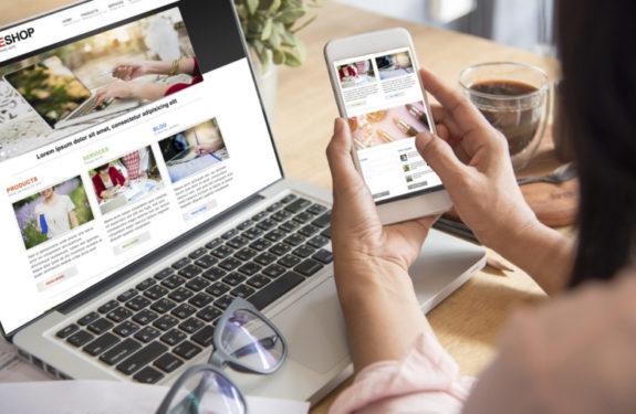 Formulario de alta del e-commerce