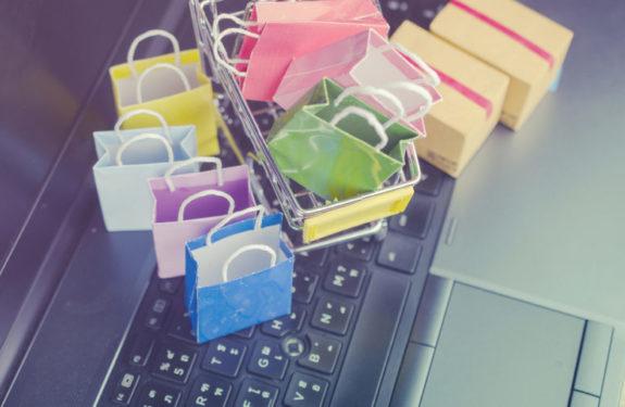 Número de productos en un e-commerce