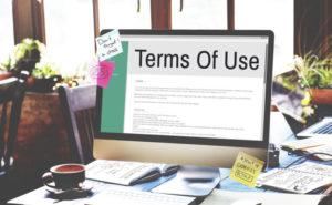 Escribir las condiciones de uso de una tienda online