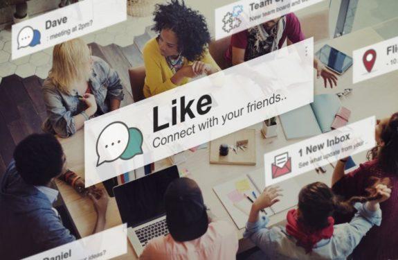 Formulario de registro por redes sociales