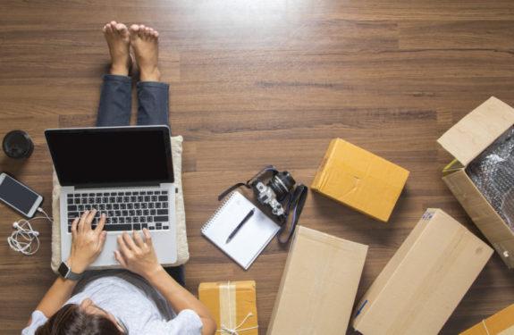 Cómo embalar productos en la tienda online