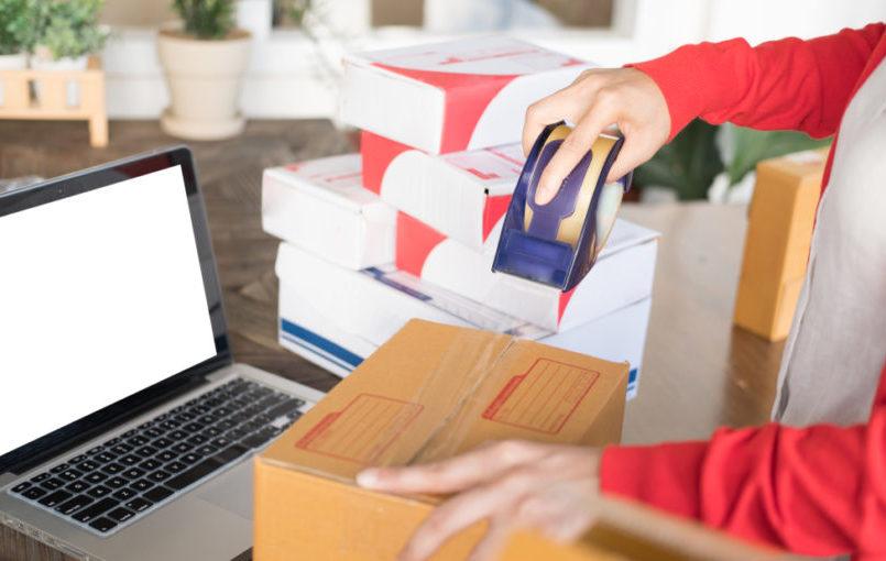 El packaging de la tienda online