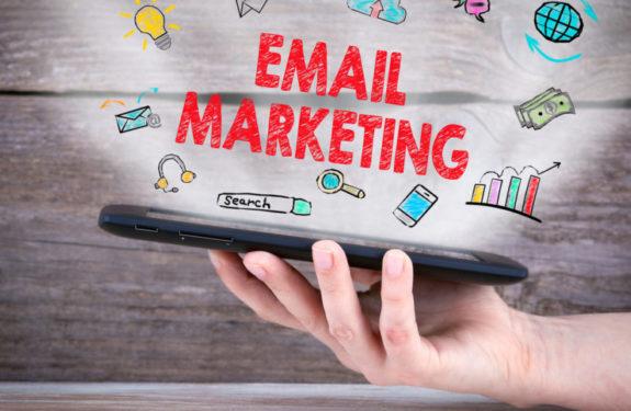 Emails de la campaña de email mk de una tienda online