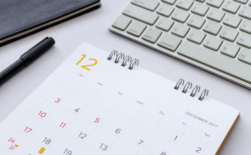 Calendario editorial tienda online